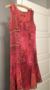 Robe Tribal rouge
