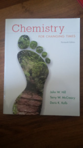 Chemistry for Changing Times 13th ed.