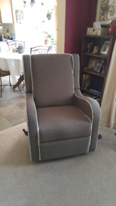 Super Comfortable Swivel, Glider, Recliner Chair...New Condition