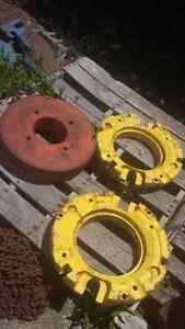 TRACTOR WHEEL WEIGHTS