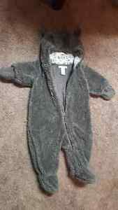 Keep your baby warm in these! Could be a Halloween costume!