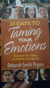 30 days to taming your emotions book