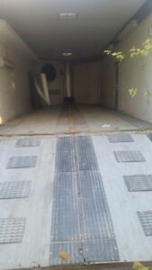 26' enclosed drive in/out cargo trailer