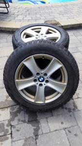 BMW X5 E70 MAG WHEELS / Bridgestone RFT (Runflats) 255/55R18