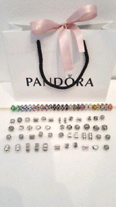Authentic Pandora Charms and Clips
