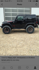 2013 Jeep Wrangler Rubicon Coupe (2 door)
