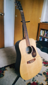 Martin DX1R acoustic (hardshell case included)