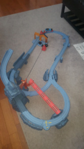 Thomas trackmaster risky rails and bridge drop