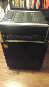 Ampeg B500DR head and Eden cab