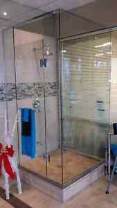 Beautiful Custom Glass Shower Makes Excellent Christmas Gift