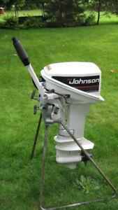 9.9HP Johnson Outboard Motor  2 Stroke