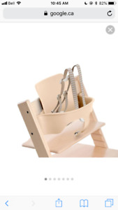 Stokke tripp trapp babyset and tray wanted