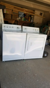 KENMORE WASHER AND DRYER PAIR $450