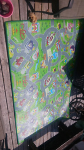 Huge 7' by 3' kids play mat