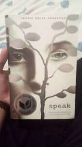 NEW BOOK Speak by Laurie Halse Anderson PERFECT CONDITION NOVEL