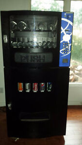 sega vending and pop machine