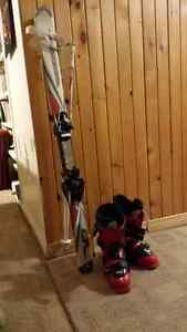 Complete Package, Skis, Bindings, Boots and Poles