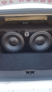 """NEW!! 2X12"""" SUB+AMP PACKAGE!!"""