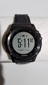 For sale Garmin Fenix 3 HR watch.