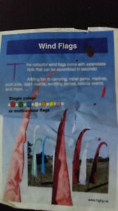 10 Wind Feather Flags for any event