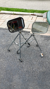 Trailer towing mirrors.
