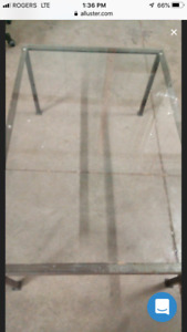 Wrought Iron Glass table