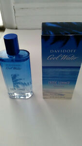 BRAND NEW COOL WATER EXOTIC SUMMER LIMITED EDITION FOR MEN