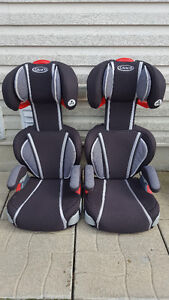 Pair of Graco High Back TurboBooster Car Seats