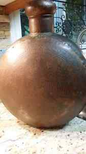 Solid copper large vase from India Kitchener / Waterloo Kitchener Area image 2