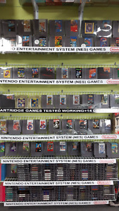 NES Games and Accesories