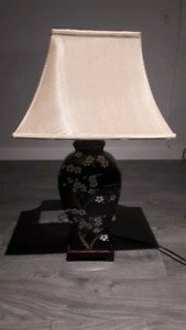 Lampe look chinois