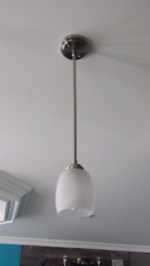 Two pendent lights