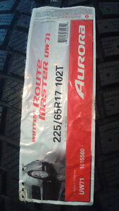 """(4)""""NEW"""" 195-65-15 G-Fit AS & 225-65-17 Aurora snow tires London Ontario image 1"""