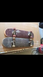 Two skateboards in good condition