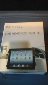 Tablet car headrest  mount