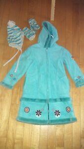 Manteau chic printemps, automne et hiver pour fille 6 ans
