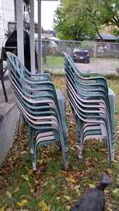Free Plastic chairs