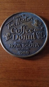 1988 Tim Hortons collectors coin