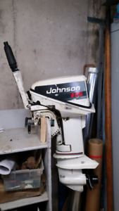 1992 Johnson Outboard Motor 15 hp.