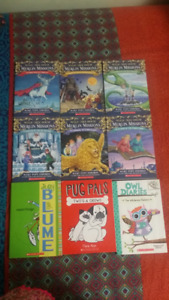 Book For Sale Including Magic Tree House, Pug Pals, & more