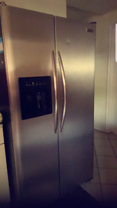 Stainless steel Fridgeaire Electrolux