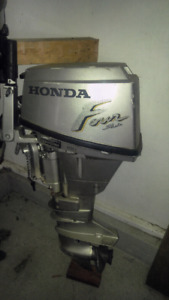 Assortment of outboards