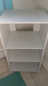TV stand painted grey