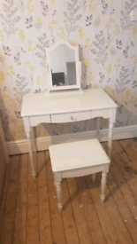 Girls Dressing Table and Stool
