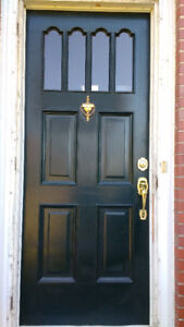 Exterior doors for sale, wood and steel