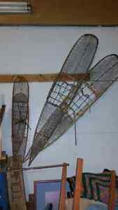Antique Yukon Snowshoes