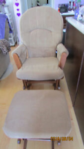 GLIDER ROCKER PLUS FOOTSTOOL