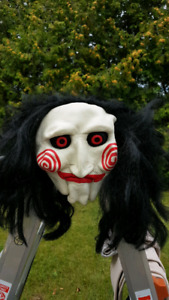 "Jigsaw mask from the ""Saw"" movies"