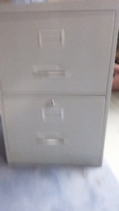 3  Vertical File Cabinets