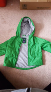 0-6 Month Gap green jacket
